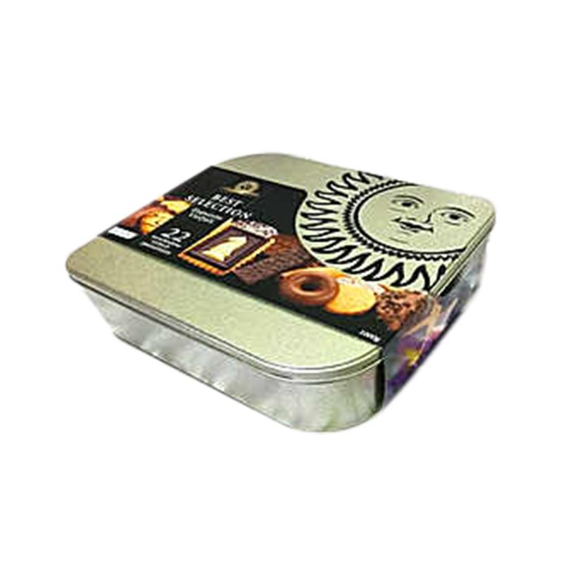 德国伦巴兹Lambertz特选22种什锦曲奇饼干1kg*1铁礼盒