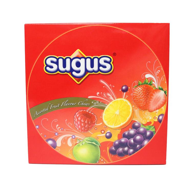 香港原装进口SUGUS瑞士糖混合口味软糖礼盒装350g新年年货送礼
