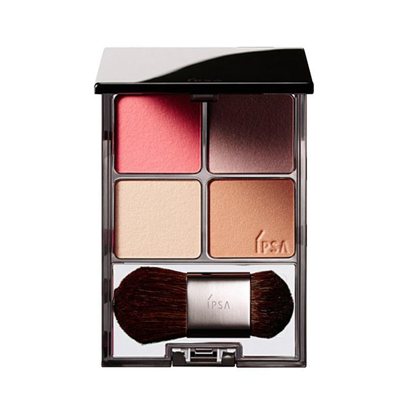 IPSA茵芙莎四色柔妝修飾彩盒腮紅保濕胭脂腮紅修飾輪廓 雙色可選