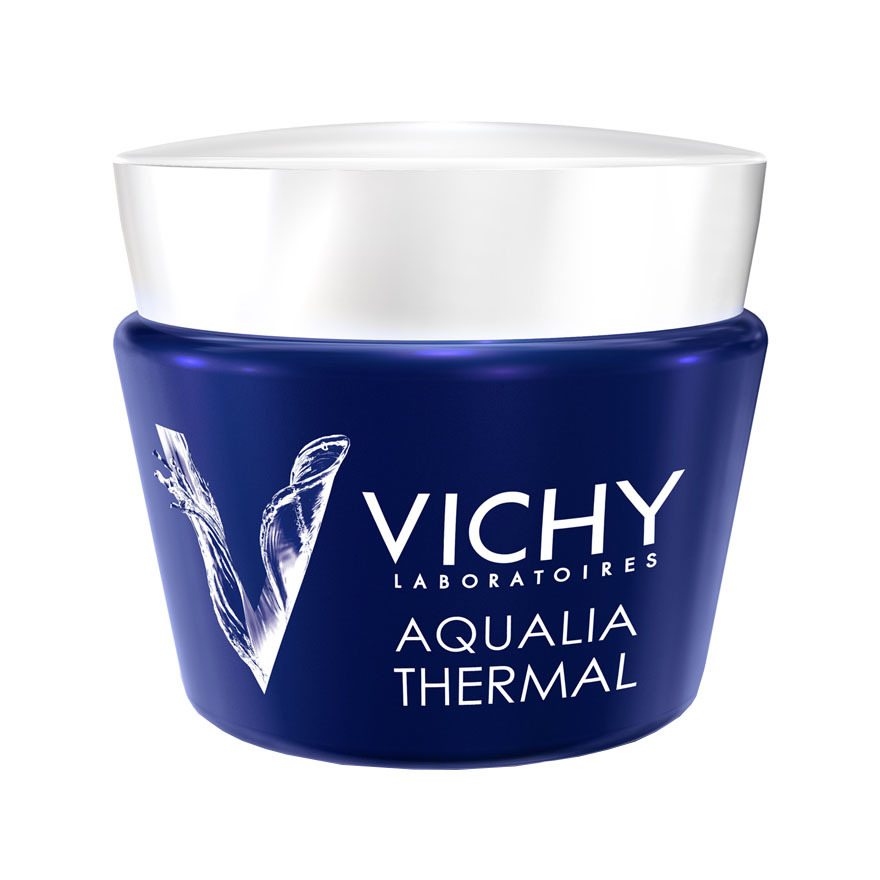 VICHY 溫泉礦泉保濕SPA睡眠面膜 75毫升