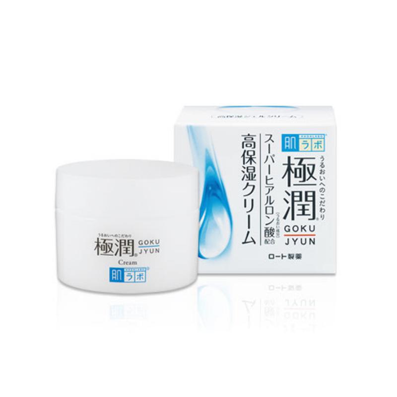 ROHTO乐敦 肌研极润玻尿酸保湿面霜 50g