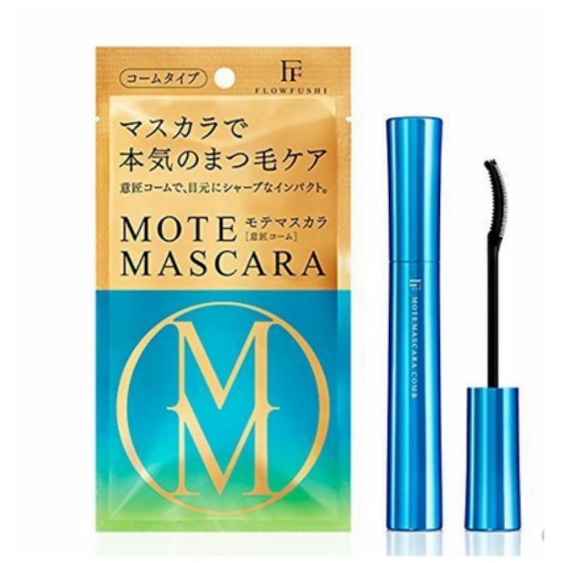 日本新版FLOW FUSHI MOTE MASCARA熊野职人睫毛膏粉纤长浓密