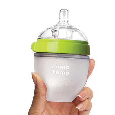 comotomo可么多么硅胶奶瓶宝宝断奶防胀气奶瓶150ml