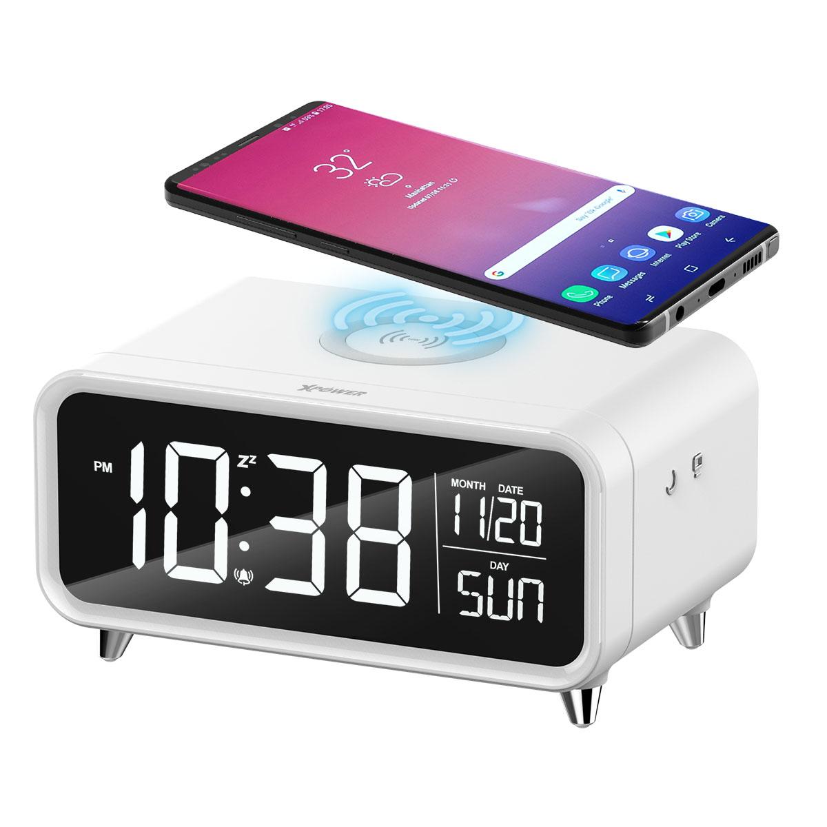 XPower Qi-Clock 无线充电闹钟