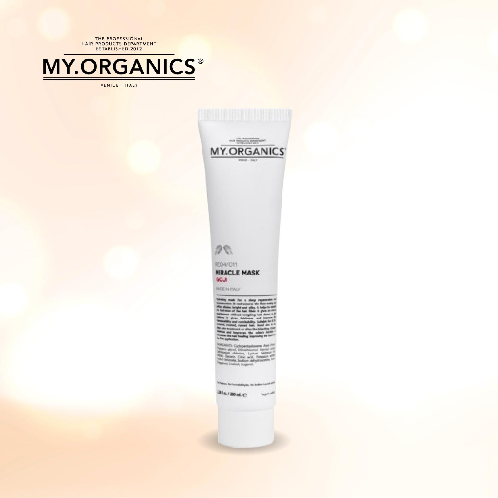 My.Organics 闪亮水凝发膜 200ml