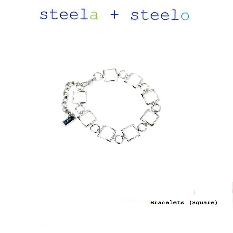 s+s steela + steelo 316L精钢 方串串 手链