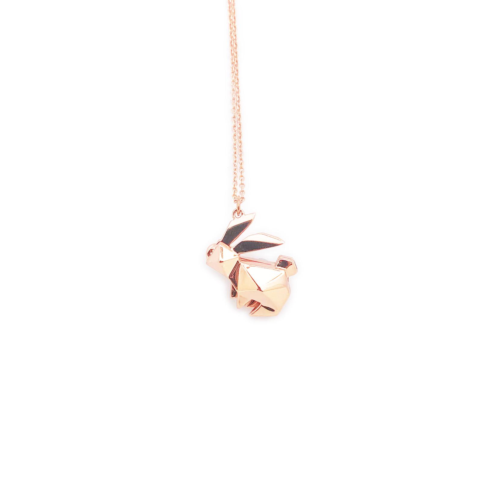 Dearest 香港原创设计香薰饰物 小兔子香薰项链 吊咀是小盒子 可打开放入沾有香薰精油的棉花球
